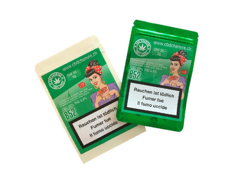 B52 | 3g et 9g - CBD herbe légale