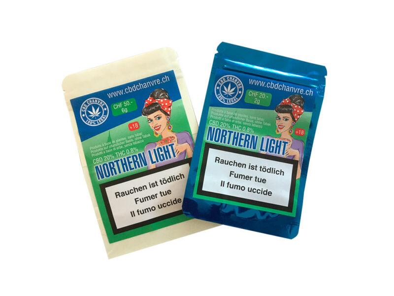 Norther Light | 3g et 9g - CBD herbe légale