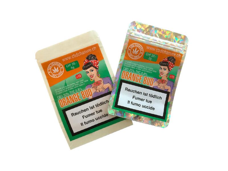 Orange BUD | 3g et 9g - CBD herbe légale